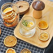 健康饮品|自制低温烘干橙子柠檬迷迭香饮#硬核菜谱制作人#
