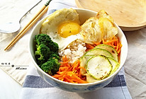 时蔬糙米饭的做法