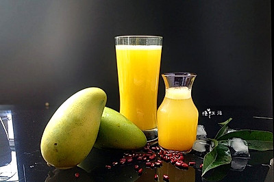 热带风情-----鲜榨芒果汁