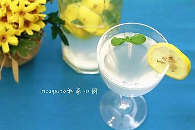 柠檬薄荷冰饮【Mosquito私家小厨】