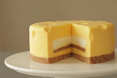 免烤干酪芝士蛋糕