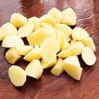 #就是红烧吃不腻!#土鸡土豆粉条一锅炖的做法图解4