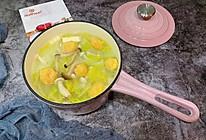 娃娃菜蘑菇豆腐汤的做法