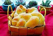 低糖玉米油燕麦面包的做法