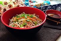 花生酱拌干捞面#趣味挤出来,及时享美味#的做法