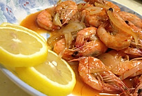 酸甜柠檬虾的做法