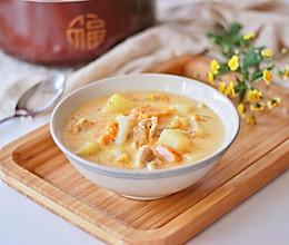 【一食呓语】暖身奶油炖菜的做法