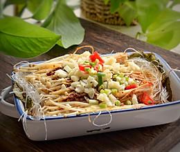 #硬核菜谱制作人#烤粉丝金针菇的做法