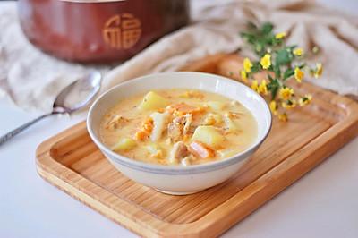 【一食呓语】暖身奶油炖菜