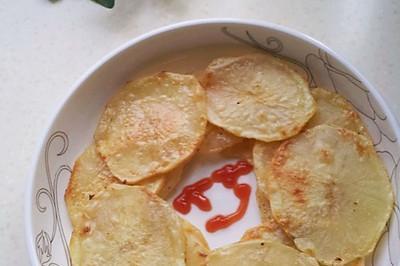 烤薯片(电饼铛版)