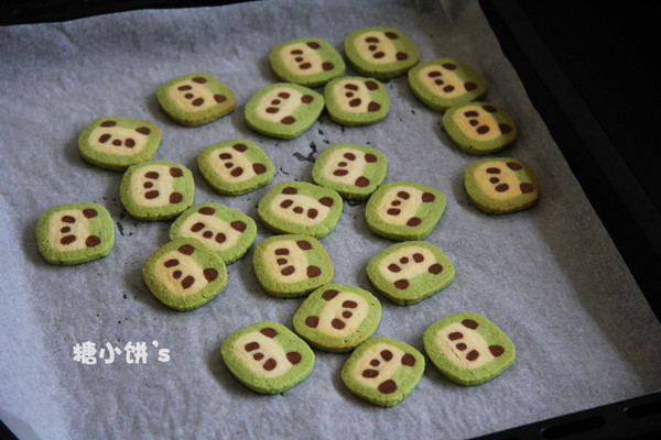 【熊猫饼干】的做法