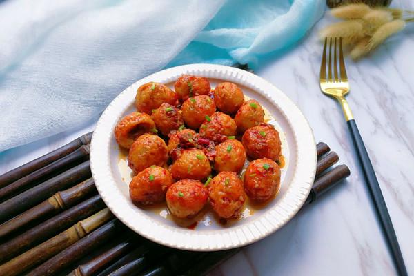 香辣虎皮鹌鹑蛋#厨此之外,锦享美味#的做法