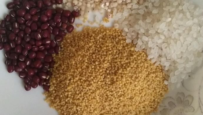 红豆小米米糊