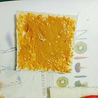 爆浆拉丝的西多士的做法图解4