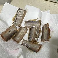 香酥带鱼(附青豆烧带鱼方法)的做法图解4