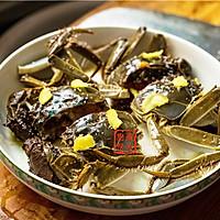 家常菜系列 - 咸肉蒸大闸蟹的做法图解7