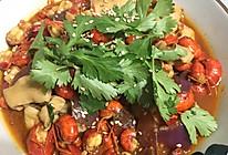 水煮龙虾肥肠的做法