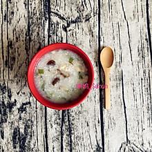 香菇鸡肉粥(电饭煲版)
