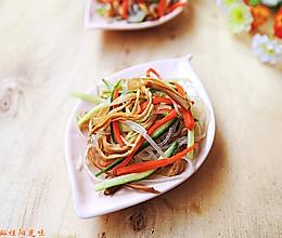 黄花菜拌粉丝#夏日清爽家常菜#的做法