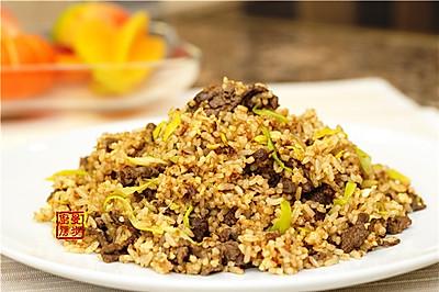 【曼步厨房】潮汕美味 - 沙茶牛肉炒饭