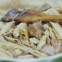 腐竹炒肉片的做法图解4