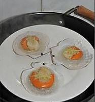 蒜蓉粉丝蒸扇贝的做法图解12