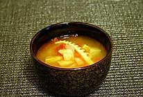火麻油西红柿土豆咸笋汤的做法