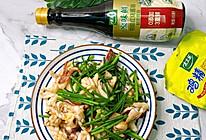 #太太乐鲜鸡汁玩转健康快手菜#韭菜花炒鱿鱼的做法