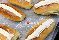卡士达奶油面包的做法