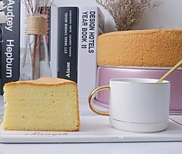 10寸原味戚风蛋糕的做法