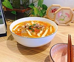能喝汤的番茄肥牛的做法
