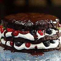 经典巧克力裸蛋糕的做法图解28