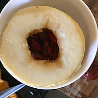 冰糖红枣枸杞炖雪梨的做法图解3