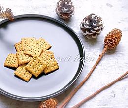 海苔虾味苏打饼干 | 宝宝的下午茶的做法
