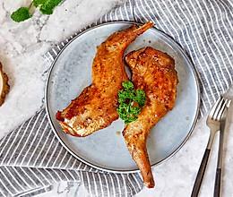 香辣孜然烤兔腿(空气炸锅版)#做道好菜,自我宠爱!#的做法