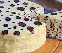 豹纹千层蛋糕的做法