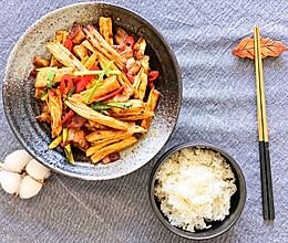 腐竹小炒肉的做法