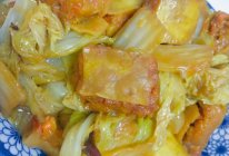 醋熘白菜咯吱盒的做法