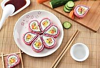#母亲节,给妈妈做道菜#樱花寿司的做法