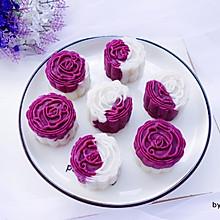 #好吃不上火#紫薯山药糕