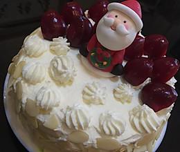 奶油蛋糕(6寸)的做法