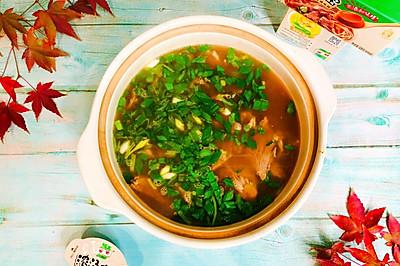 鸡汁与牛肉汤