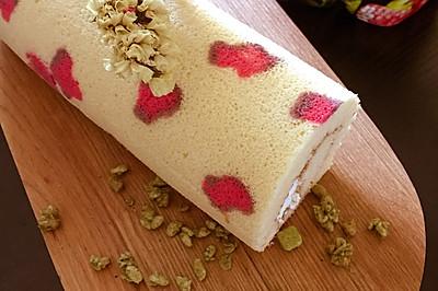 性感豹纹蛋糕卷