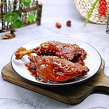 #多力金牌大厨带回家-北京站#不加一滴老抽的酱香鸭腿