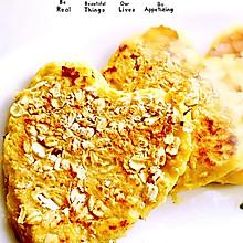 豆渣燕麦饼