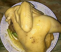 三黄鸡的做法