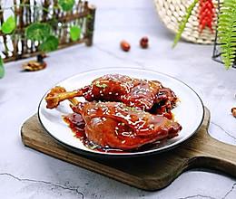 #多力金牌大厨带回家-北京站#不加一滴老抽的酱香鸭腿的做法