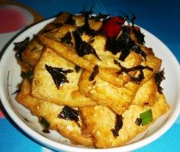 香煎水豆腐的做法