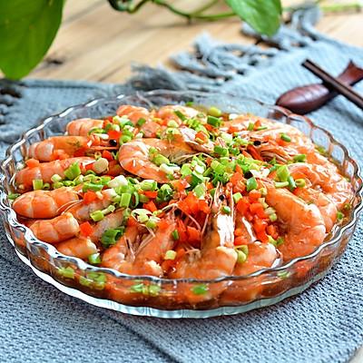 大虾粉丝煲
