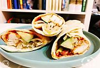墨西哥鸡肉卷之饼皮做法的做法
